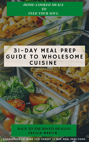 31-Day Meal Prep Guide to Wholesome Consumption