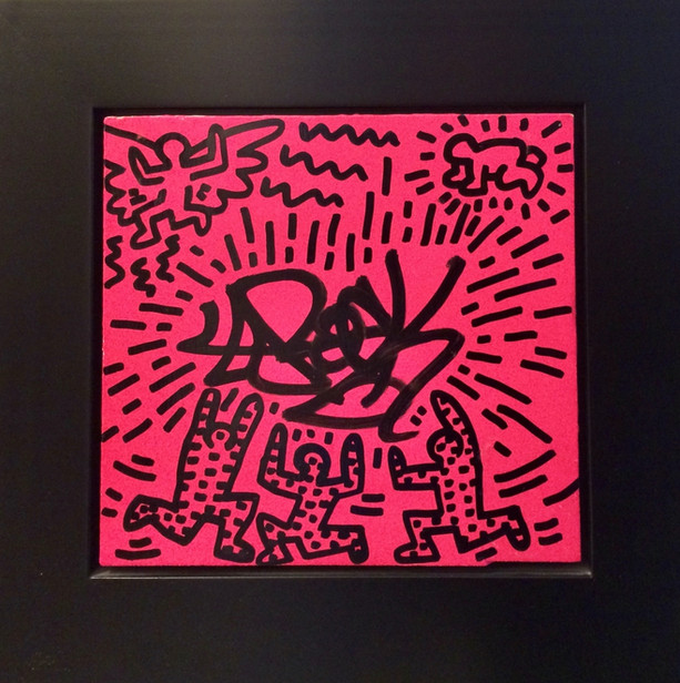 Keith Haring & L.A. Untitled