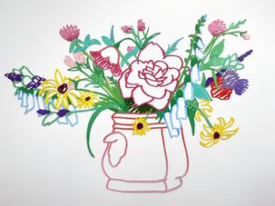 Wildflower Bouquet (One - Handled Vase)
