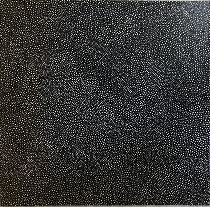 Yayoi Kusama Infinity-Nets, 2014 Acrylic on canvas 51.2x 51.2 inches