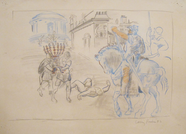 Study for Macabees II