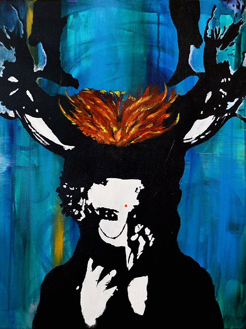 Deer Hunter Signed Print -limited edition