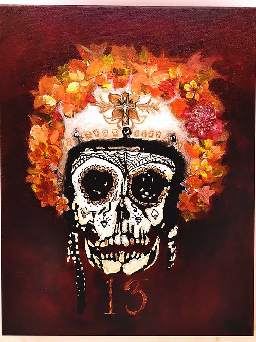 Death Race - No 2 - Day of the Dead Prints
