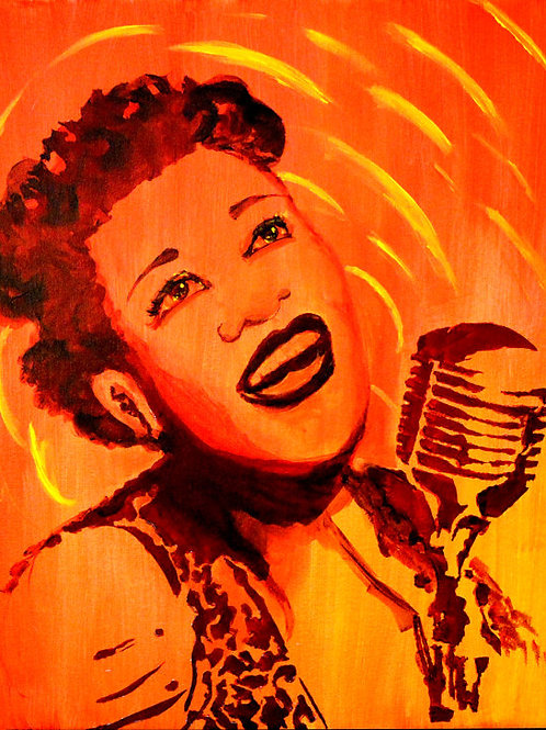 Ella Fitzgerald - 11x14 Signed numbered print