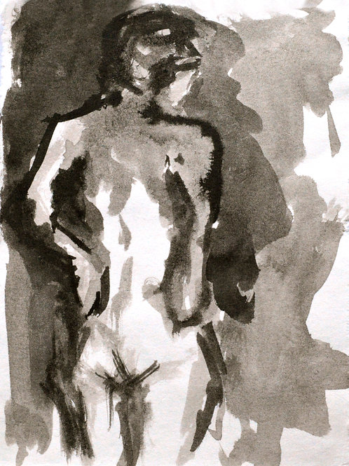 London Nude - 5x7 Print - Signed and numbered limited prints available