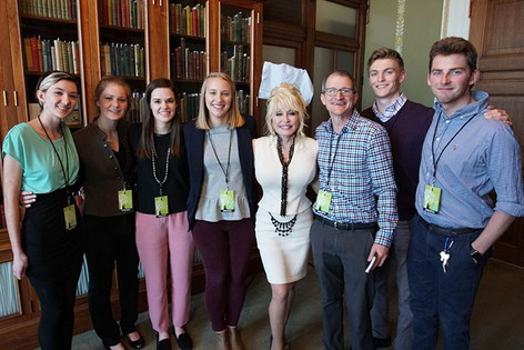 UT Students Interview Dolly Parton