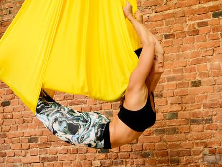 When Yoga meets Aerial Dance