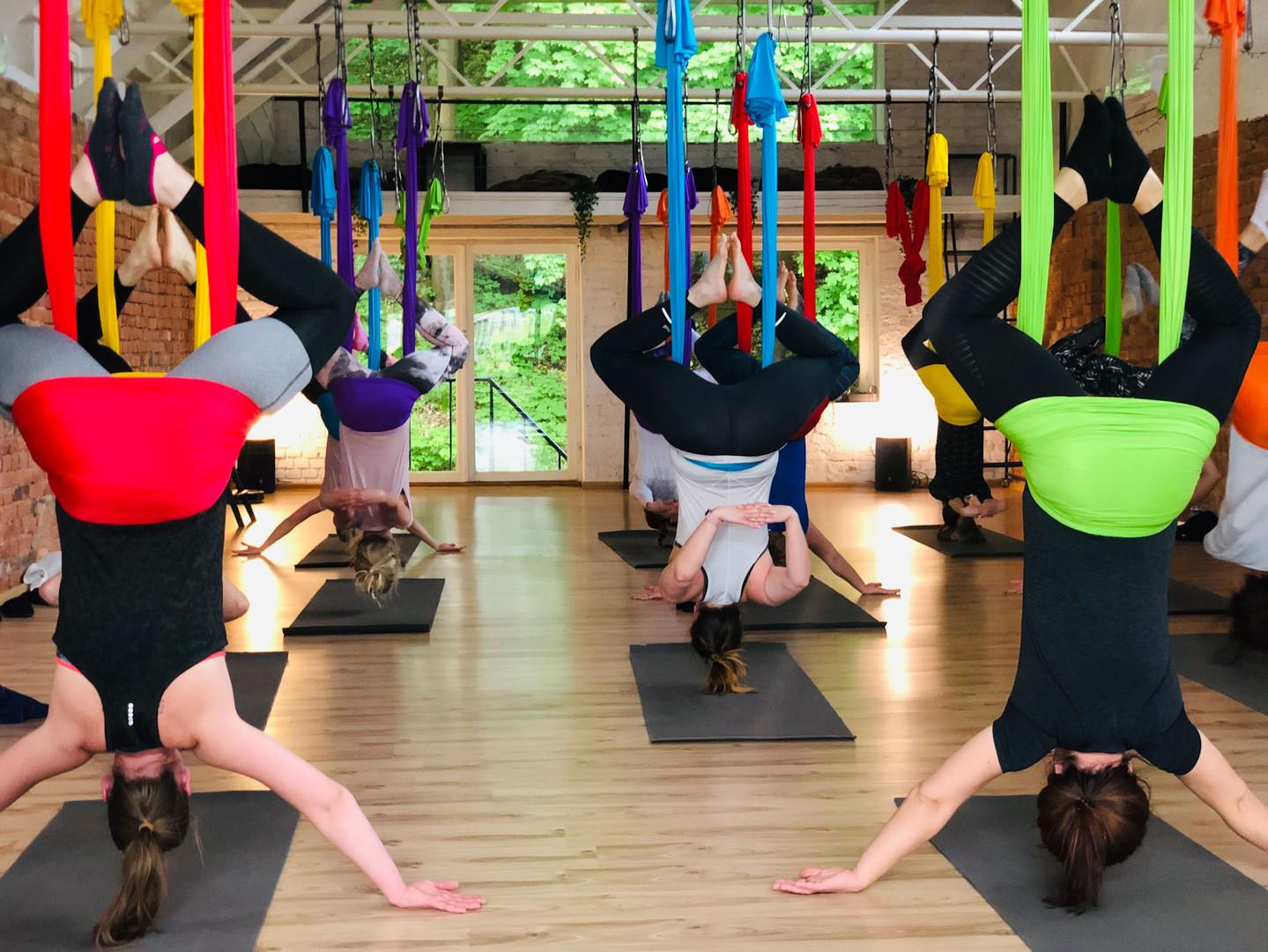 EXPRESS Oro joga CamiYoga Aerial yoga1.J