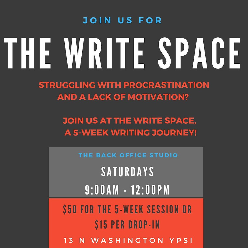 Cancelled 10/05/19 Write Space