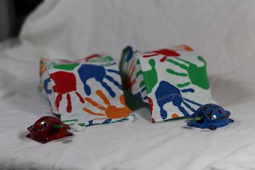 3D Origami Design - Hand Prints
