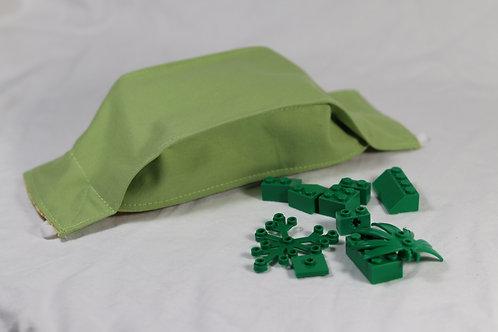 3D Origami Design - Solid Green