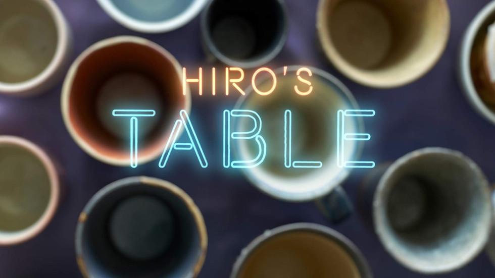 "Award-winning film ""Hiro's Table"" (Directed by Lynn Hamrick, Music by Yasuhiko Fukuoka"