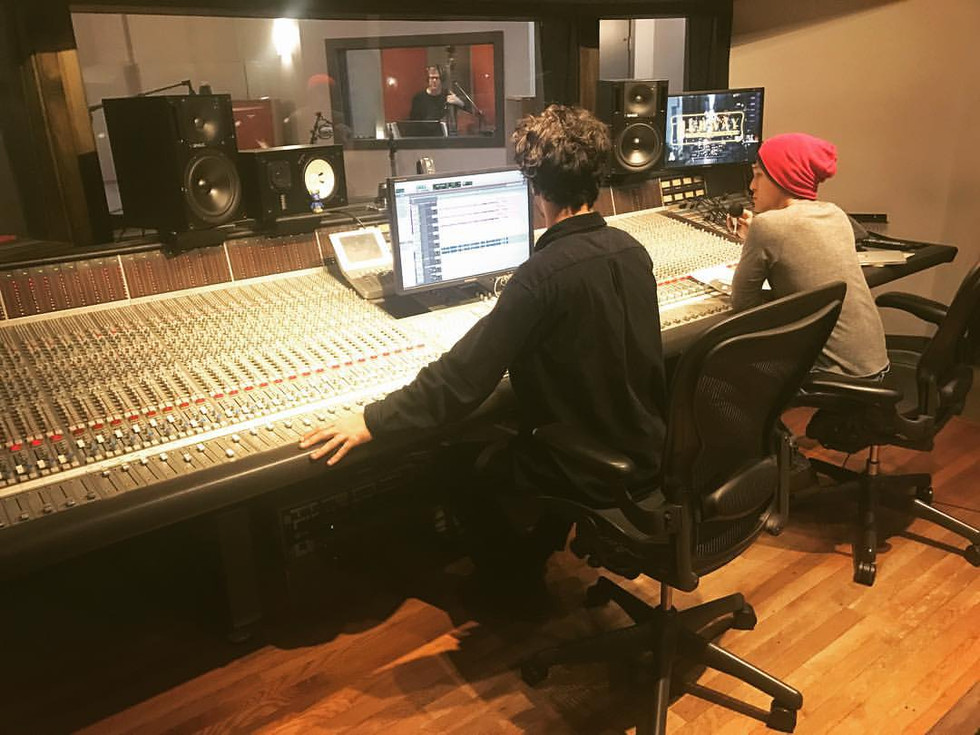 Another recording session at Dubway Studios, NYC