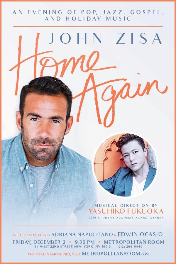Music Directing: John Zisa - Home Again on December 2