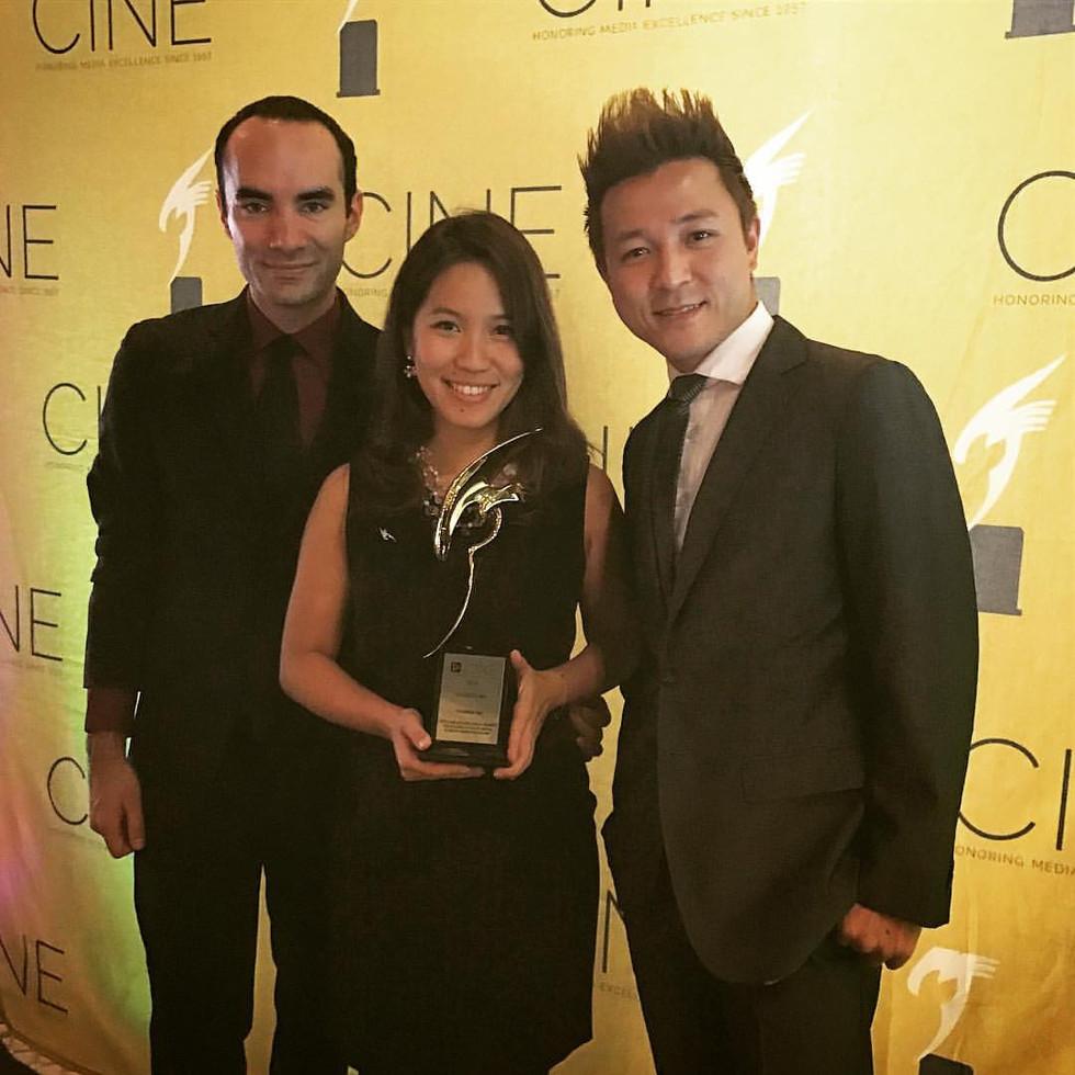 """Original Film Score: """"Cloud-Kumo"""" wins 2016 CINE Golden Eagle Awards"""