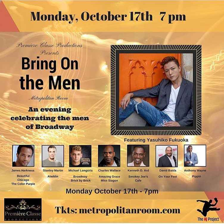 Music Directing: BROADWAYWORLD.COM Article 'BRING ON THE MEN to Play The Metropolitan Room'
