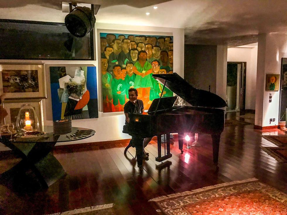 Yasuhiko makes performance debut in Cairo, Egypt