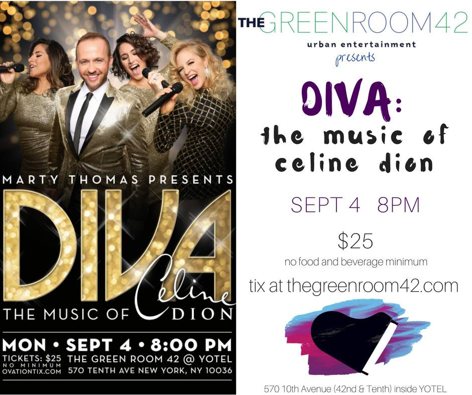 Music Directing: Marty Thomas Presents DIVA ~ The Music of Celine Dion""