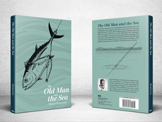 Book Cover Design: The Old Man and the Sea
