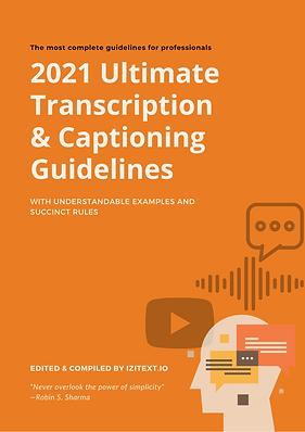 A4. Izitext. Transcription Guidelines. B