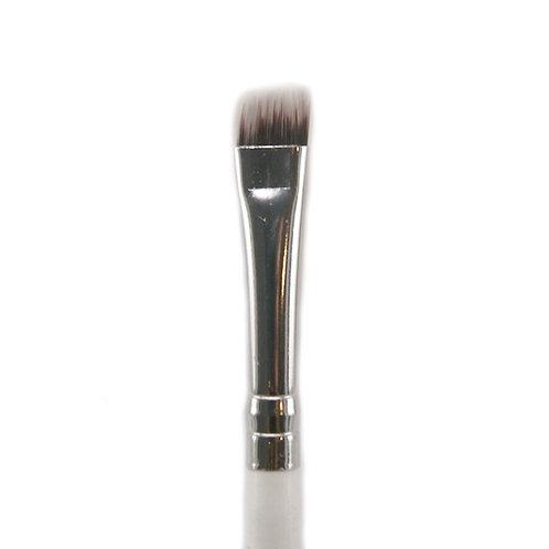 eco/vegan angled eyeliner/brow brush