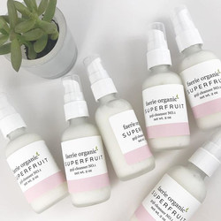 Need a gentle cleanser that removes makeup and leaves your skin balanced_ Our Superfruit cleanser is
