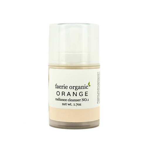 orange radiance cleanser (soap free)