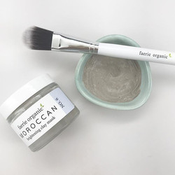 Having a drab skin day_ Our Moroccan brightening clay mask is a purifying ritual that draws toxins a