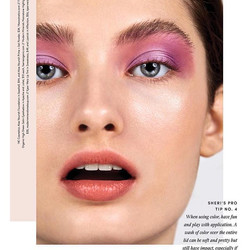 Loving these gorgeous pops of color by makeup artist _sheristroh for _thoughtfullymagazine using Fae