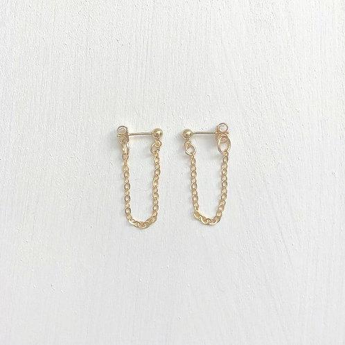 Ryan Cable Chain Earrings