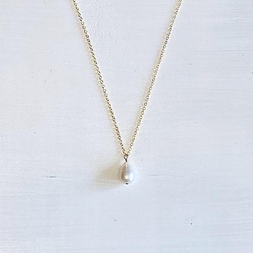 Haru Freshwater Drop Pearl  Necklace