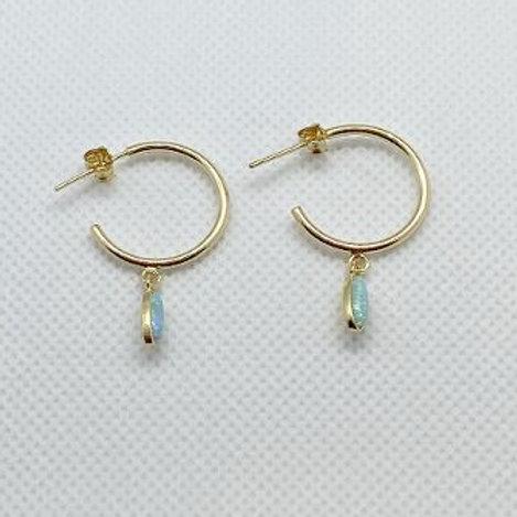 Umi Hoop Earrings