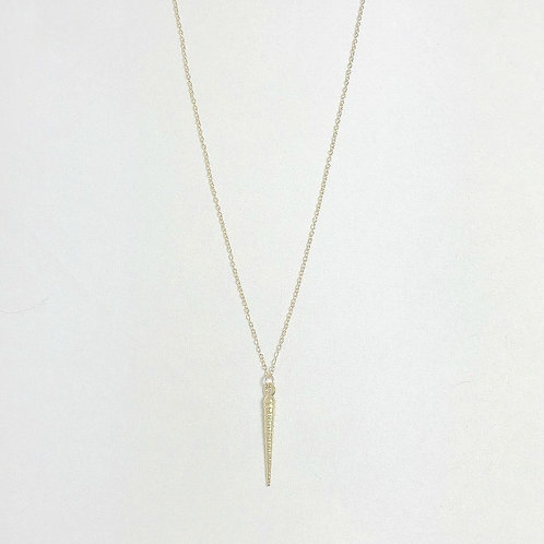 Uni Casted Spike Necklace