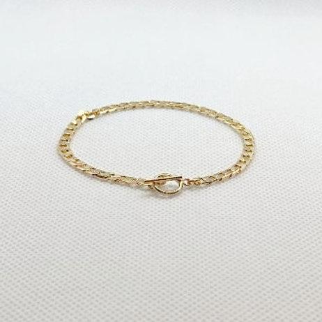 Yuuki  Curb Chain Bracelet