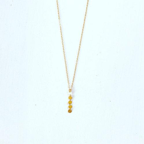 Tori Disc Dangle Necklace