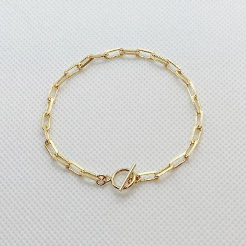 Tokyo Paper-clip Chain Bracelet