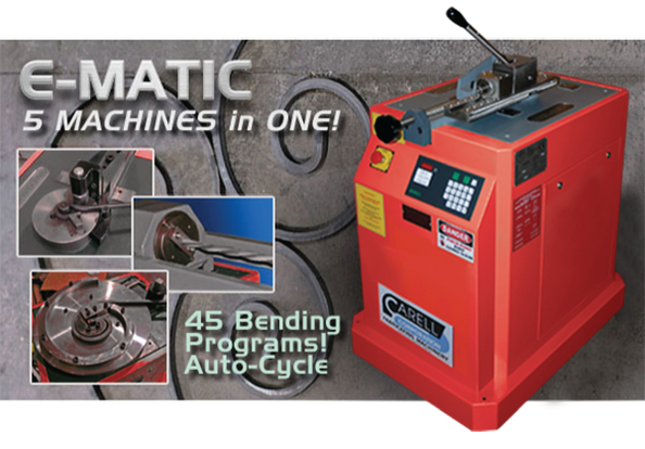 E-matic 5 Machines in One!