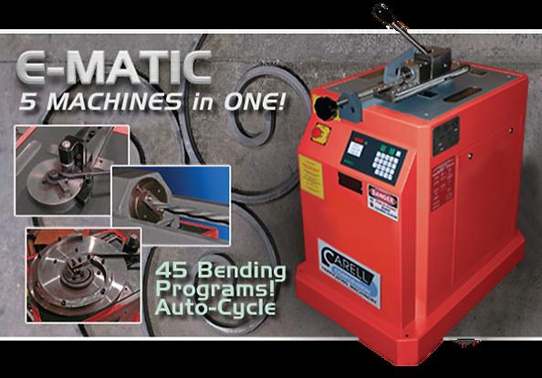 E-matic 5 Machines in One!