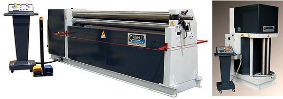 A31Series 3 Roll Plate Rolls