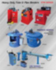 Haevy Duty Tube & Pipe Benders ETM & Pedrick Series