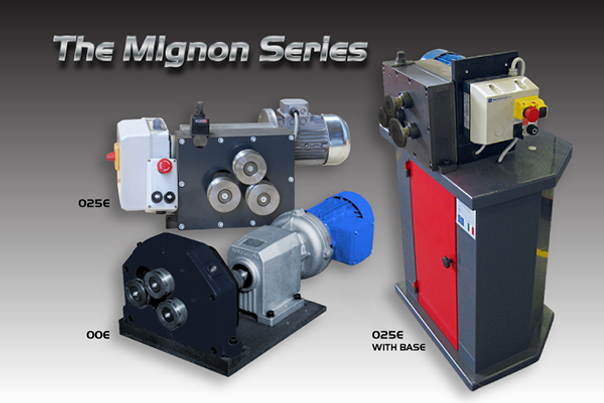 The Mignon Series Roll Benders