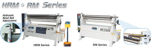 HRM & RM 3 Roll Plate Rolls