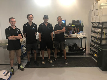 Brisbane Pool Robotics Repair Team