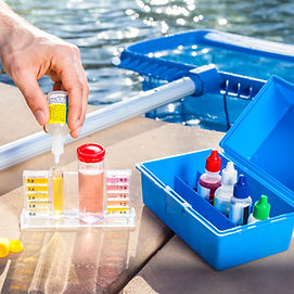 Pool water test chemical