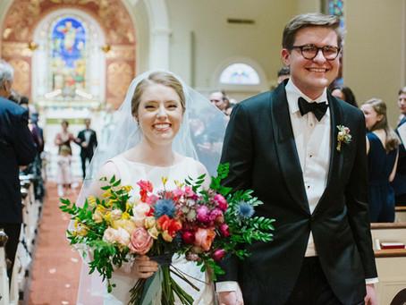 Bright Smiles & Bright Colors bring warmth to M+D's Savannah, GA Winter Wedding