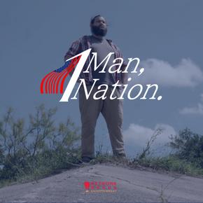 1 Man, 1 Nation.
