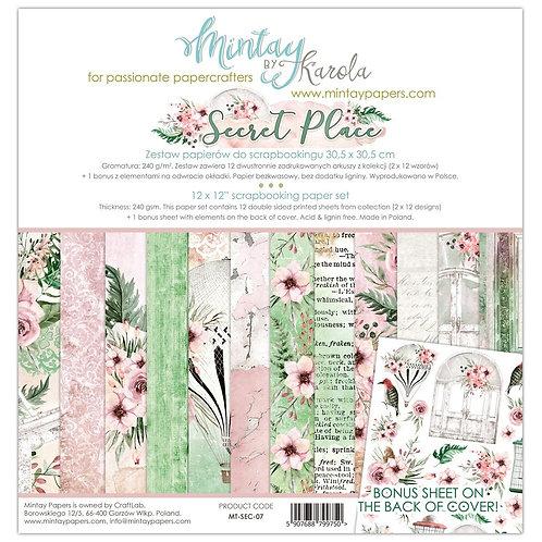 Secret Place Mintay Scrapbook pack