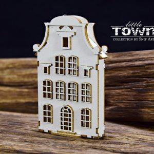 Little Town - Tenement House - 7 Snip Art