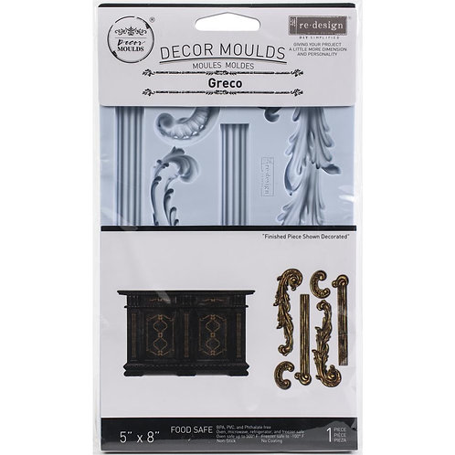 "Prima Marketing Re-Design Mould 5""X8""X8mm - Greco"