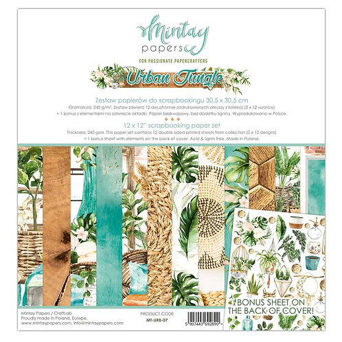 Urban Jungle 07- Mintay – 12″ Collection pack includes bonus sheet